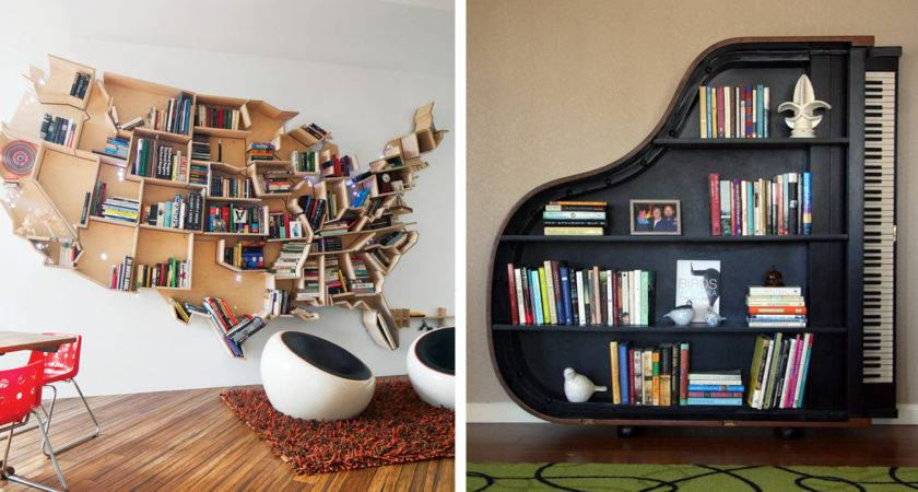 Most Creative Bookshelves Ever Bored Panda