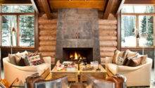 Mountain Lodge Blending Rustic Modern Details