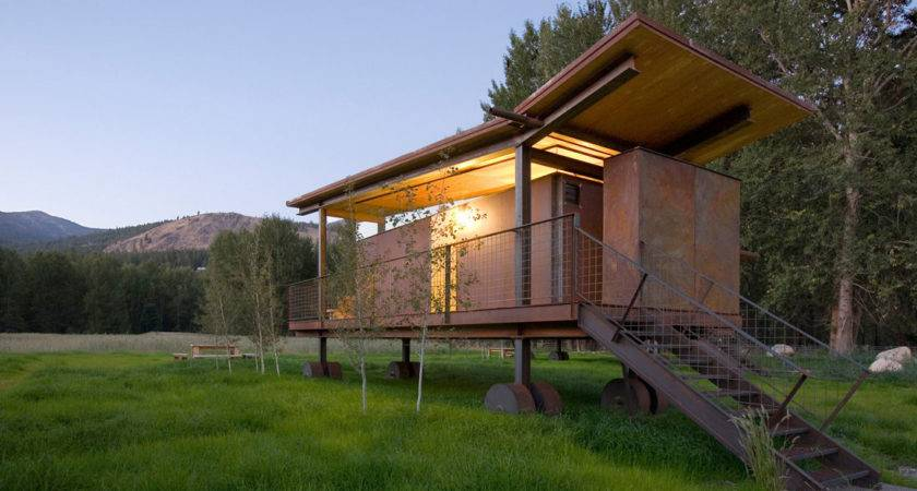 Movable Camping Huts Guest Houses Idesignarch