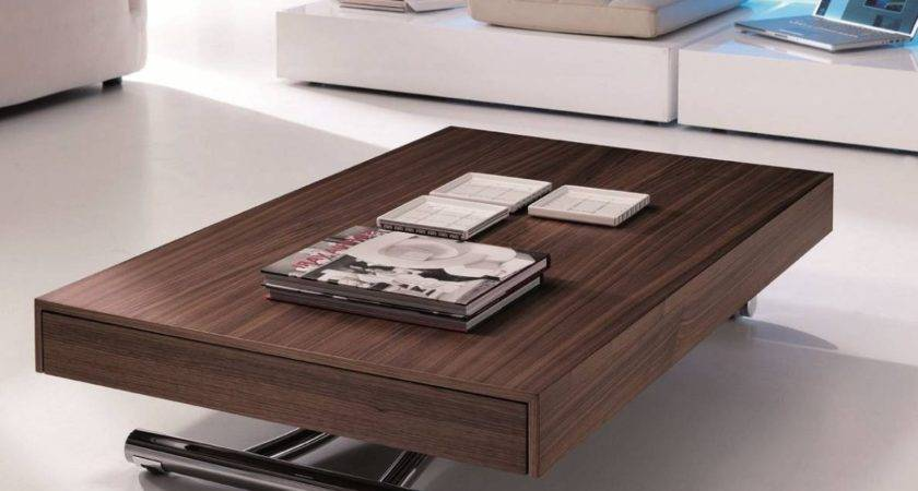 Multi Coffee Table Design Ideas