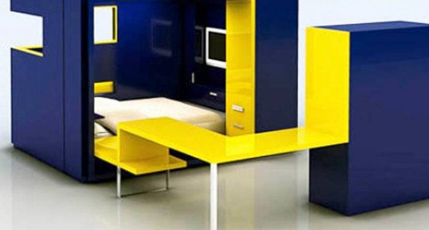 Multifunctional Furniture Small Spaces Bedrooms