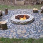 Natural Gas Fire Pit Ideas Comfortable Backyard