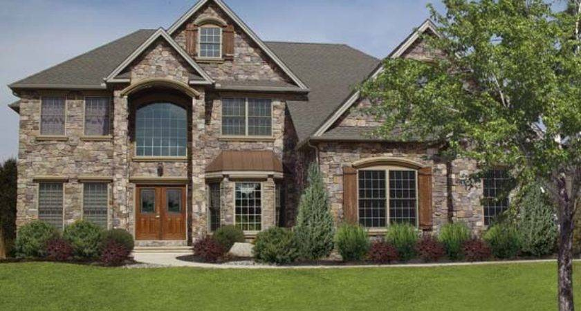 Natural Stone Exterior House Wall Decoration