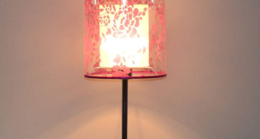 Natural Style Simple Vintage Table Lamp Acrylic Shade