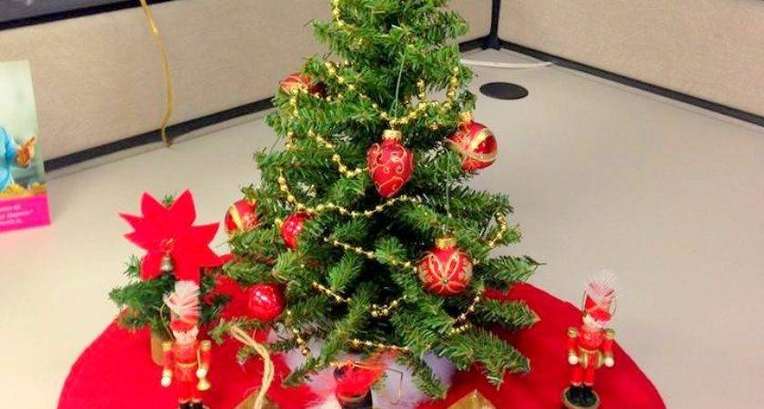 New Christmas Cubicle Decorations Office