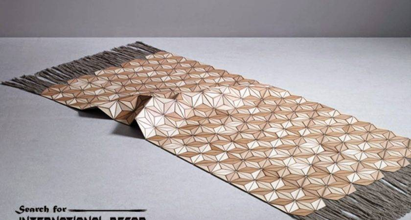 New Collection Eco Friendly Wooden Carpet Rugs