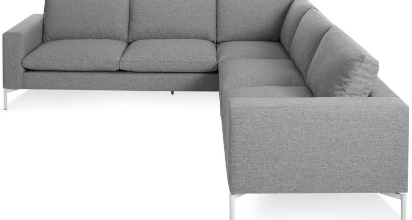 New Standard Small Sectional Sofa Hivemodern