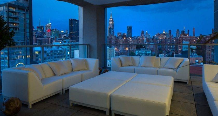 New York City Penthouse Includes Private Car