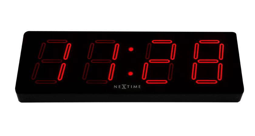 Nextime Unek Goods Digital Wall Clock Wayfair