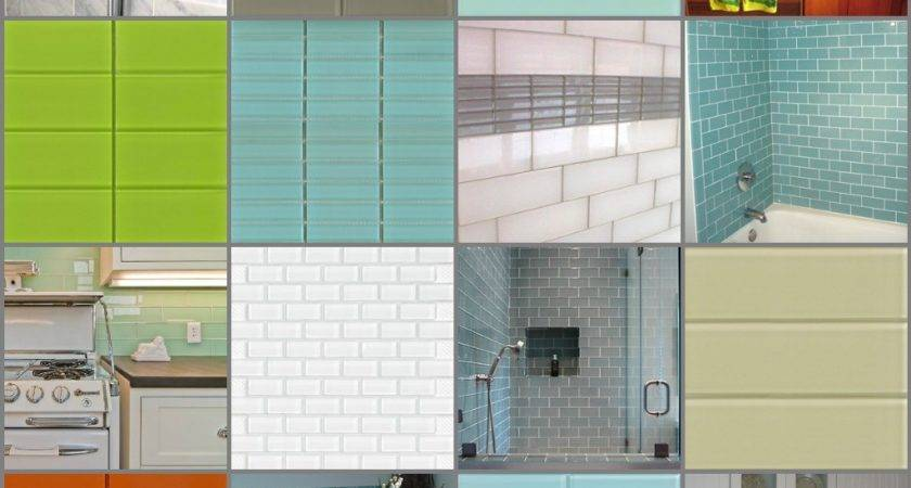 Nice Colorful Subway Tile Cool Home Design Ideas