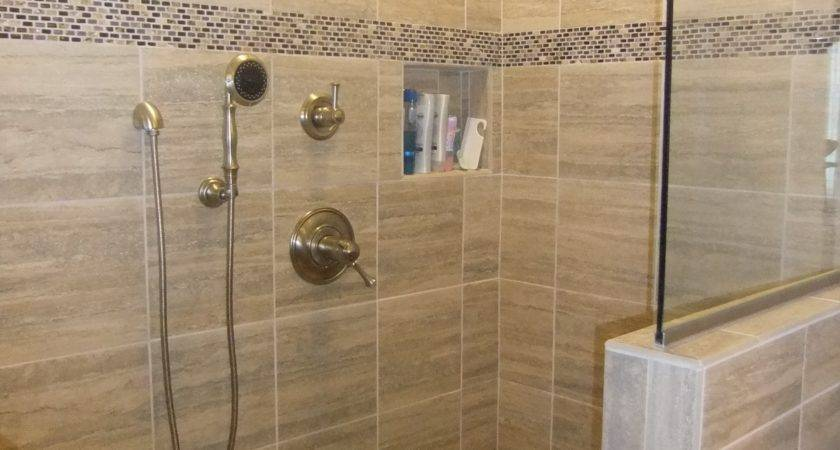 Nice Ideas Natural Stone Bathroom Wall