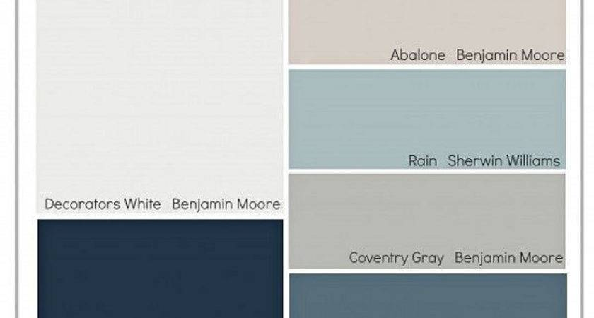 Nice Interior Paint Palettes Transitional Colors