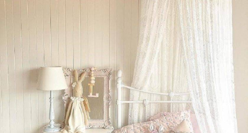 Nordic White Lace Girls Princess Dome Canopy Bed Curtains