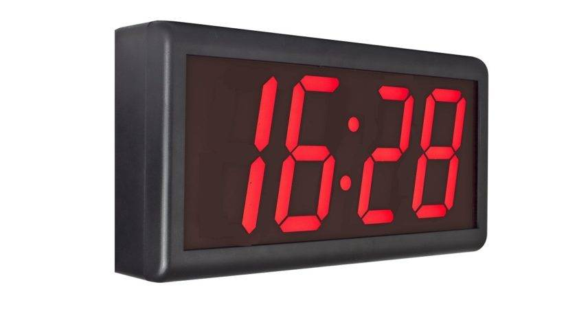 Ntp Synchronised Ethernet Digital Wall Clocks