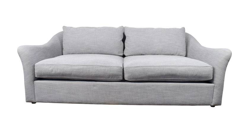 Off West Elm Delaney Sofa Grey