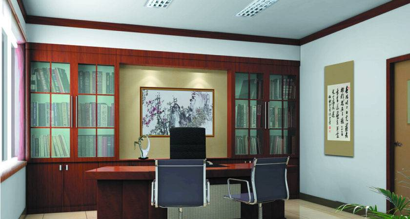 Office Chinese Style Decoration
