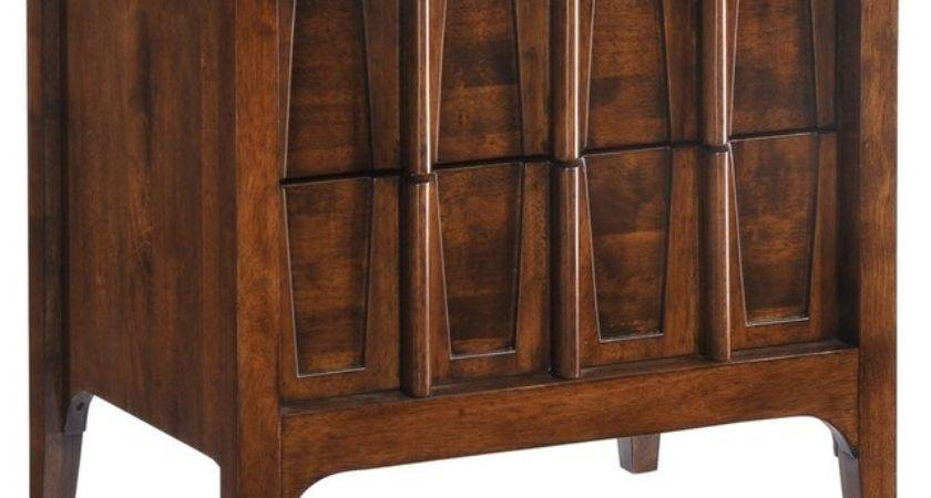 Oglesby Bedside Table Asian Nightstands