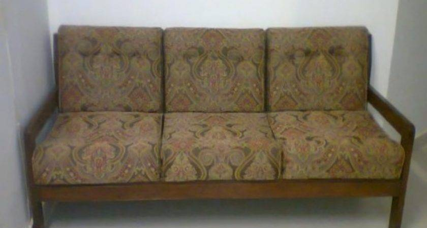 Old Fashioned Sofa Set Wooden Very
