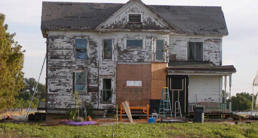 Old House Undergoing Renovation