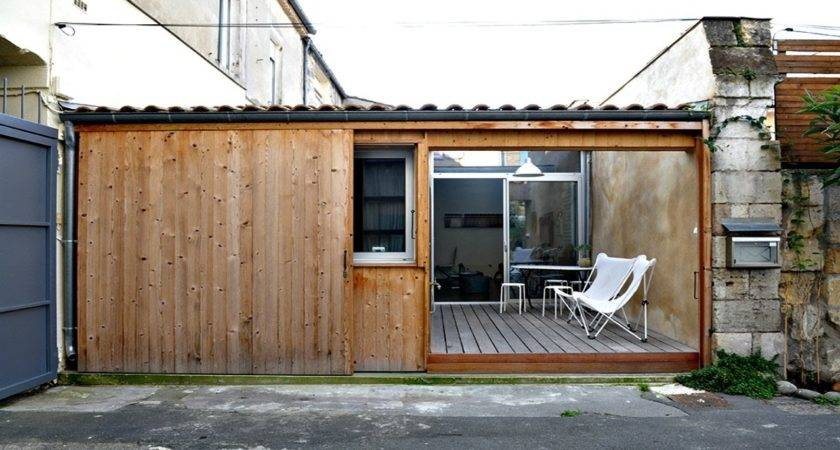 Old Parking Garage Converted Into Awesome Tiny Home