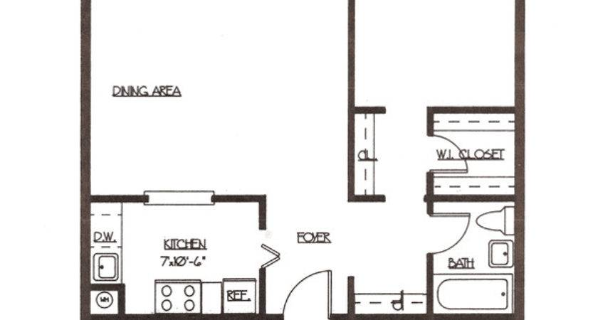 One Bedroom Apartment Layouts Design Decoration
