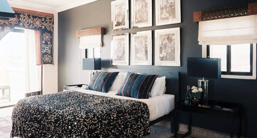 One Wall Painted Darker Photos Design Ideas Remodel
