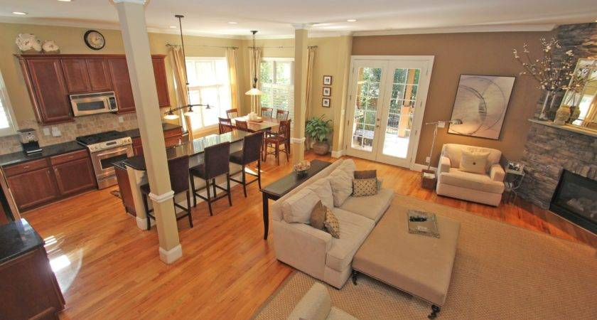 Open Concept Living Room Layout Ideas Studio Great Kitchen