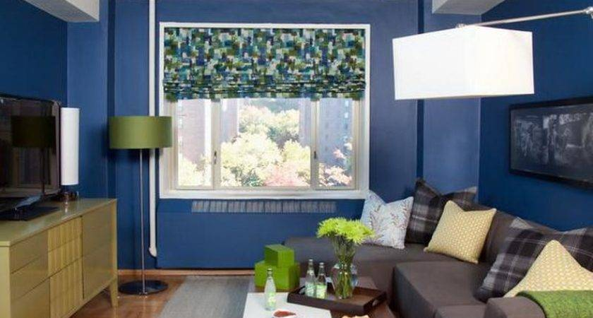Orginal Blue Decorating Ideas Very Small Living Rooms