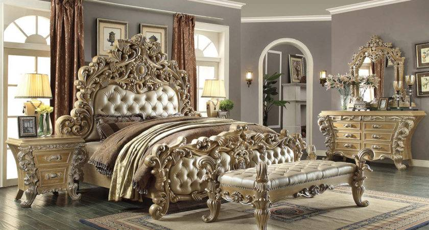 Ornate Bedroom Set