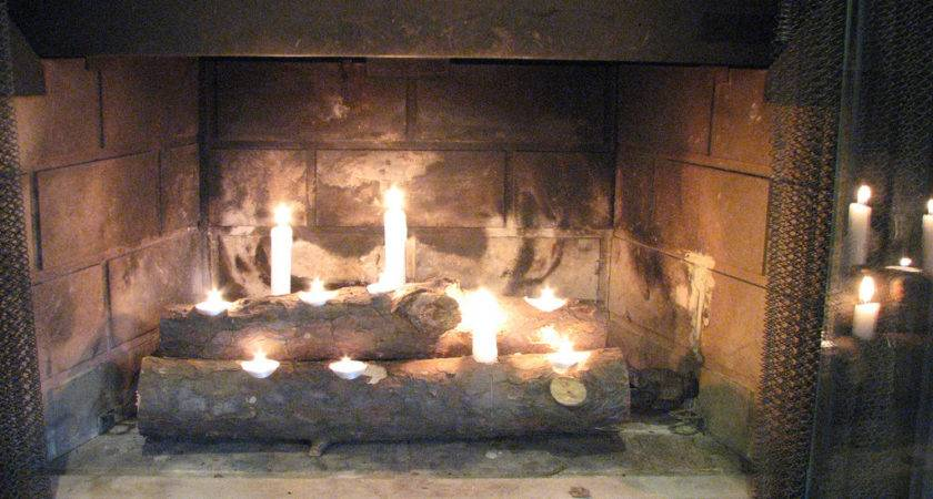 Our Nesting Ground Fireplace Candleholder