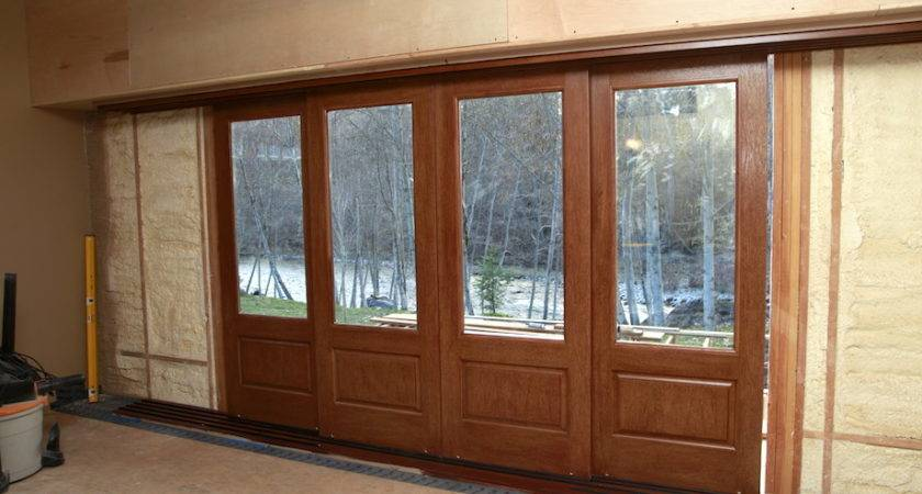 Out Sight Exterior Pocket Doors Thisiscarpentry