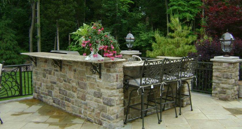 Outdoor Kitchen Plans Casual Cottage