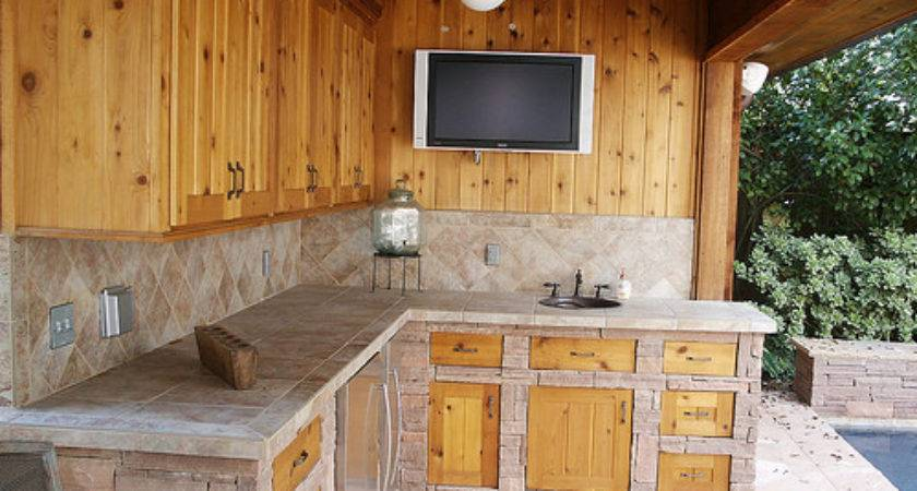 Outdoor Kitchen Pool House Flickr Sharing