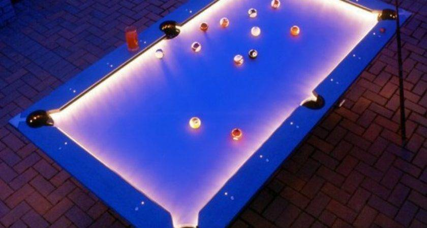 Outdoor Pool Table Lights Coolest Photos