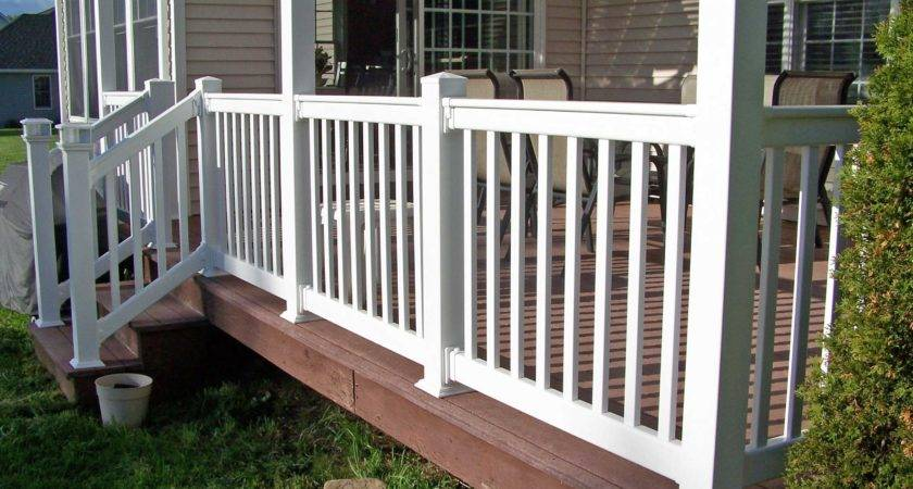 Outdoor Porch Railings