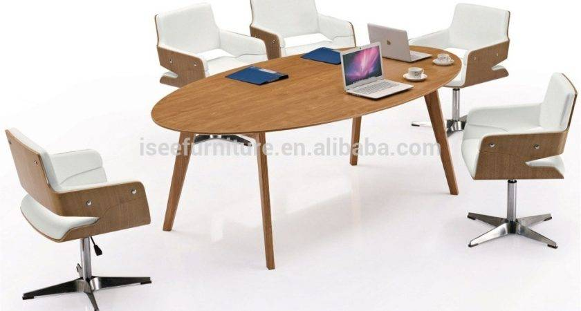 Oval Conference Table Office Desk Beautiful Looking