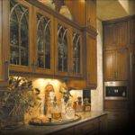 Ovation Cabinetry Gothic Style Rustic Cherry Applied