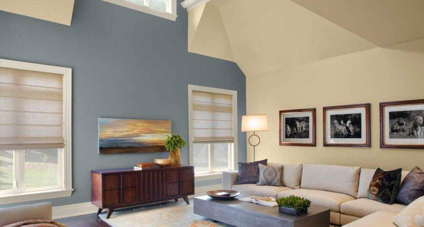 Paint Color Ideas Living Room Gray Cream Wall