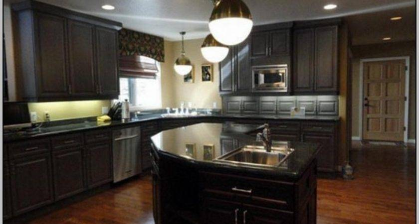 Paint Color Small Dark Kitchen Painting Post