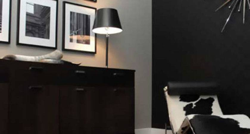 Paint Colors Used Black Grey Wall