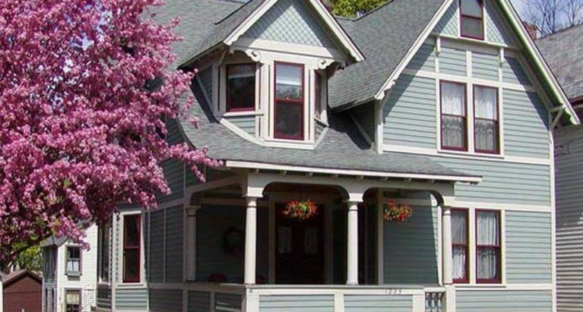 Paint Schemes Homes Gray Exterior Color