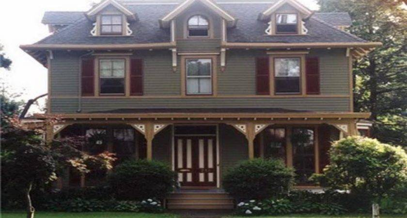Paint Schemes Homes Victorian Exterior Colors
