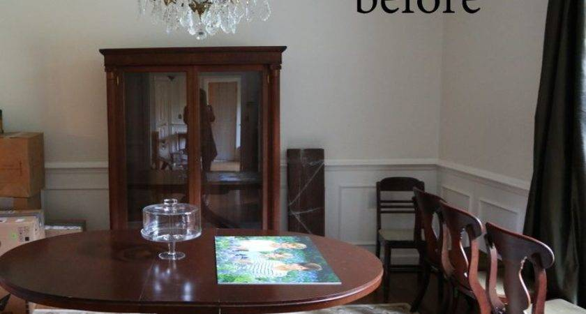 Paint Your Dining Room Table Black