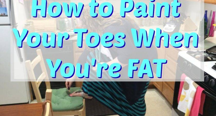 Paint Your Toes Fat Mff Day