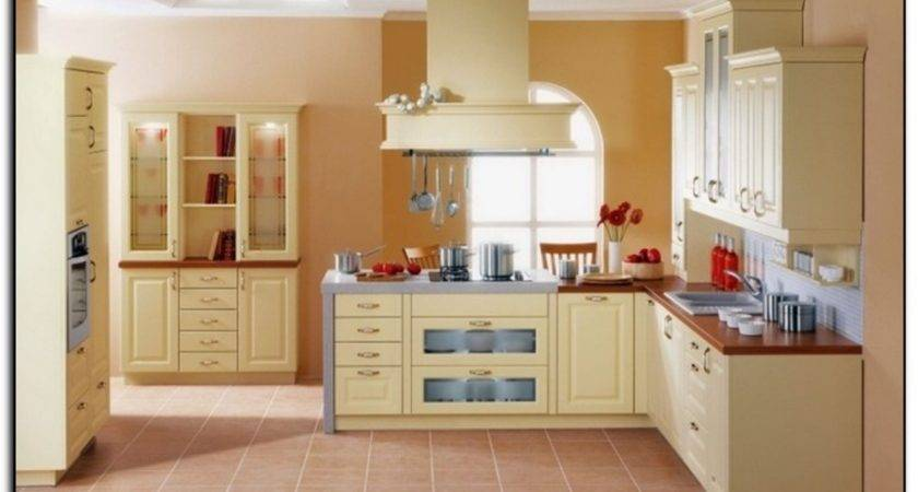 Painting Kitchen Cabinets Color Schemes Paint