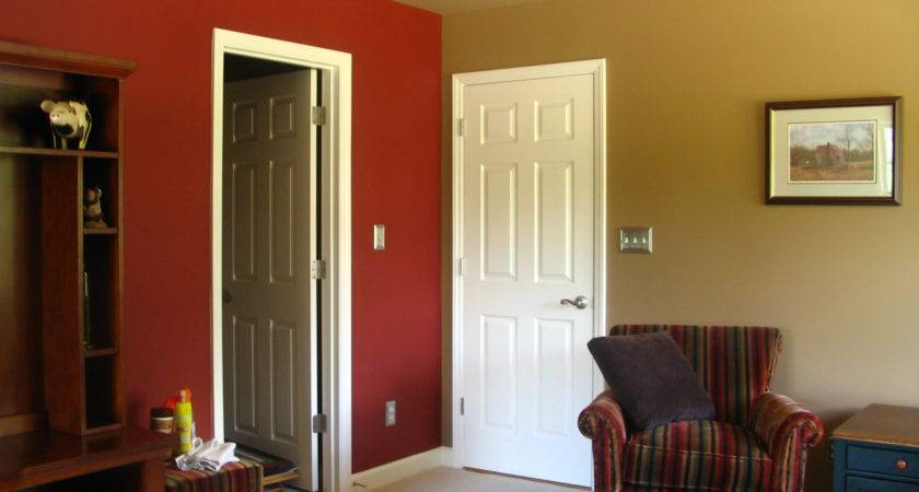 Painting One Wall Different Color Bedroom Home