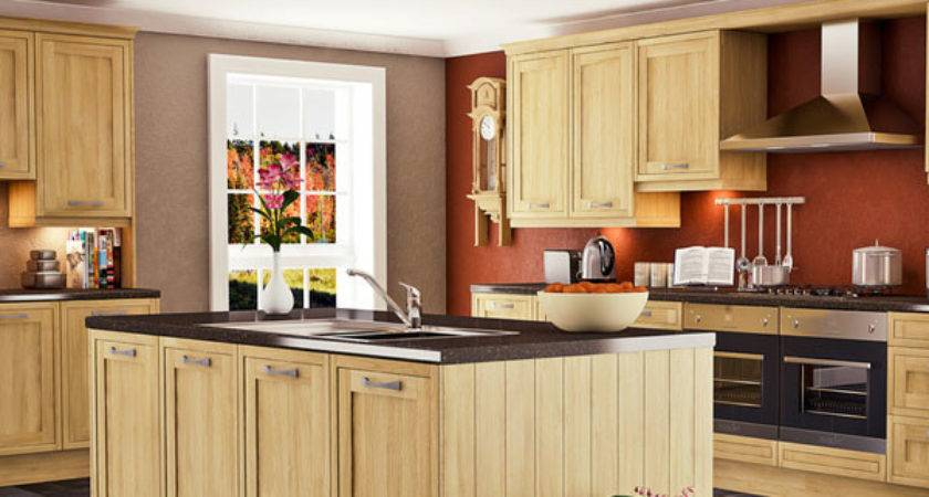 Painting Reddish Brown Colors Kitchen Walls