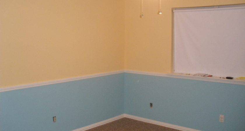 Painting Two Colors One Wall Web Value
