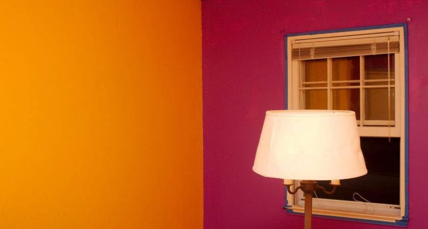 Painting Walls Different Colors Same Room Home Combo