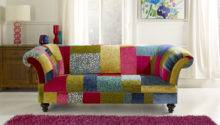 Patchwork Sofa English Chesterfields